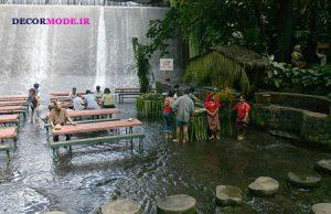 رستوران آبشار، ویلا اسکودرو در فیلیپین