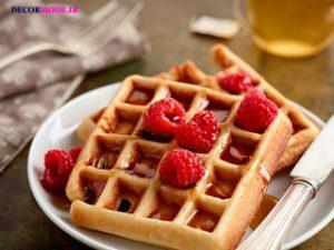 بلژیک: وافل بلژیکی (Belgian waffle)
