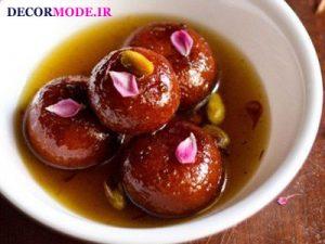هند: گلاب جامون (Gulab jamun)